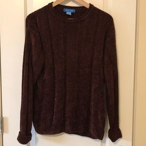 Sweaters - Dark burgundy 90s sweater